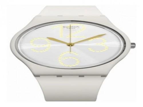Reloj Swatch Sheerchic gt107 Original 3 Atm Silicona