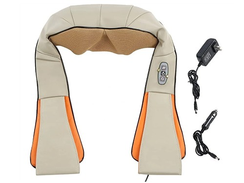 Masajeador Cervical Electrico Espalda Cuello Vibracion Calor