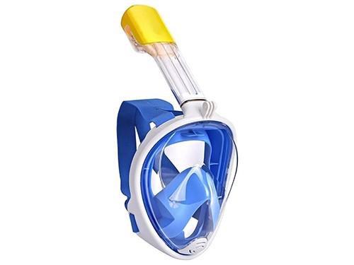 Máscara Snorkel Full Face Buceo Natación Apto Gro Pro Ajuste