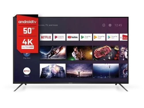 Smart Tv 4K 50 Hitachi Android control por voz CDH-LE50