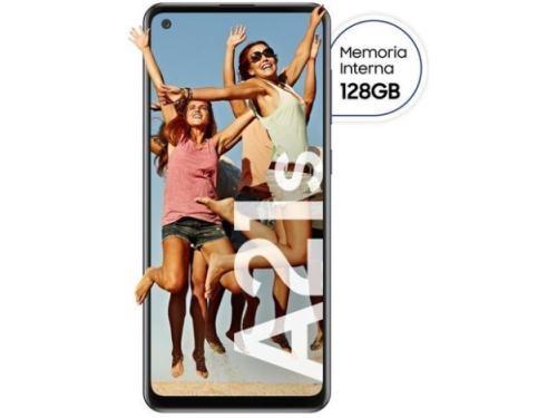 "Celular Samsung Galaxy A21S Black Pantallas 6.5"" 128 Gb + 4Gb Ram"
