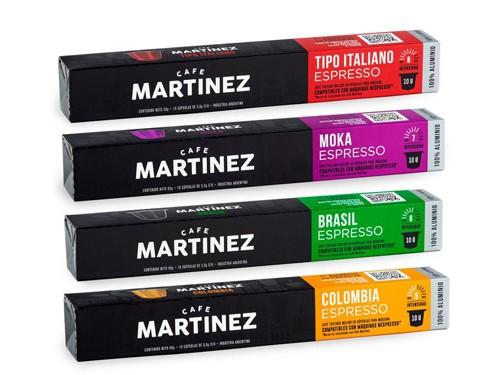 20% OFF en Combo Capsulas Café compatibles Maquinas Nespresso® *