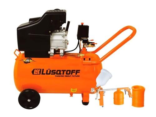 Compresor De Aire Lc-2550bk 2.5hp 50lts Lusqtoff