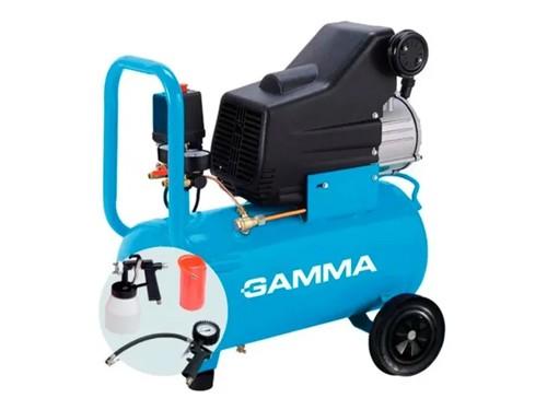 Compresor De Aire G2851kar 2,5 Hp 50lts Con Kit Gamma