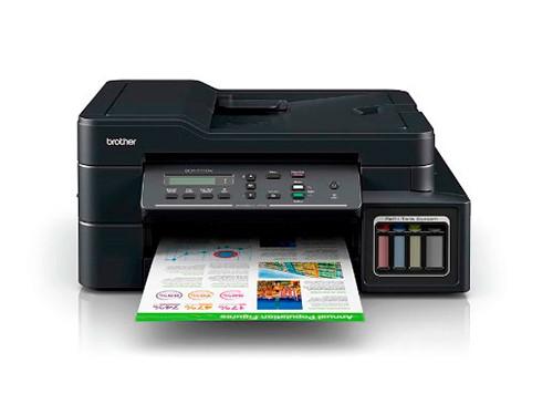 Impresora Multifunción T710 Inyección De Tinta Brother