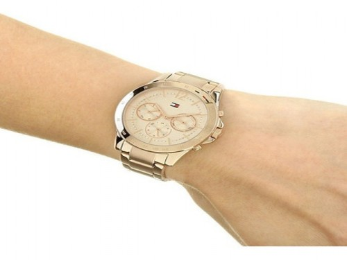 Reloj Tommy Hilfiger Haven 1782197 Original Inoxidable 3 Atm