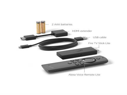 Amazon Fire Tv Stick Lite Full Hd 8GB Control De Voz Negro