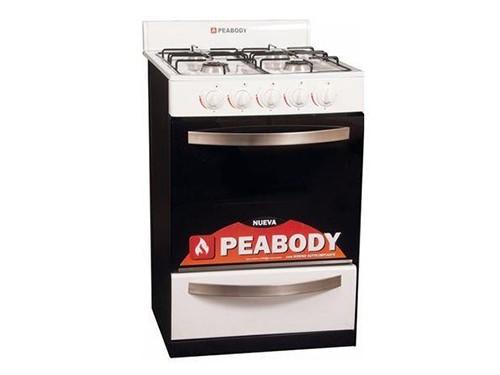 Cocina Peabody New Classica  Blanca 56 Cm Multigas
