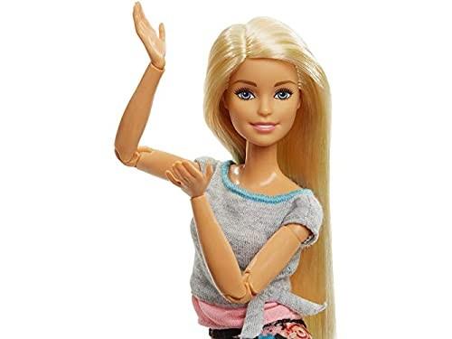 Barbie hecha para mover