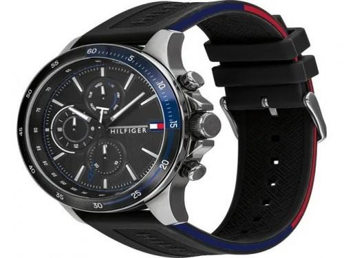 Reloj Tommy Hilfiger Bank 1791724 Original Silicona 5 Atm