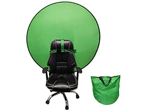 Fondo verde chroma Home office