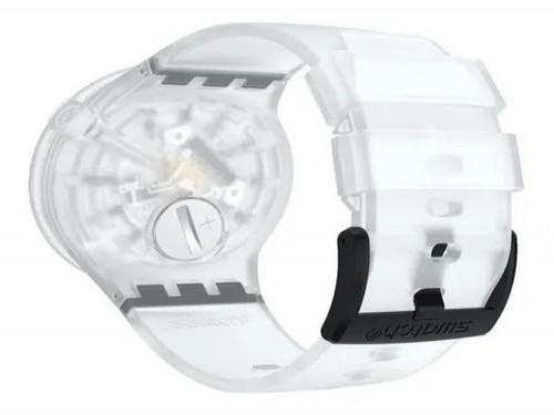 Reloj Swatch Blackinjelly 27E101 Original 3 Atm Silicona