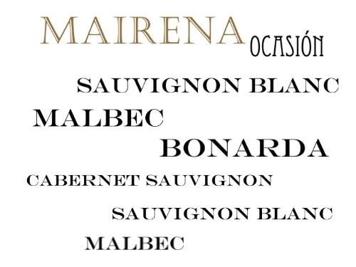 Vino tinto/blanco Mairena Ocasión Caja x6