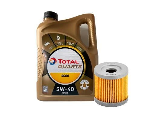 CAMBIO ACEITE Y FILTRO SINTETICO 5W 40, Motores Diesel HDI Q9000 TOTAL
