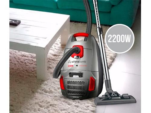 Aspiradora As-4230 2200w 7lts Filtracion Ultracomb