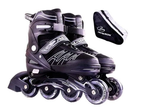 Rollers Patin Profesional Aluminio Extensible + Bolso 301
