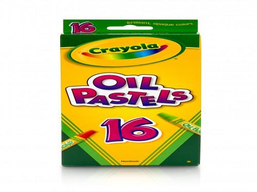 Pasteles Al Óleo Crayola T Oficial X16 Colores Surtidos