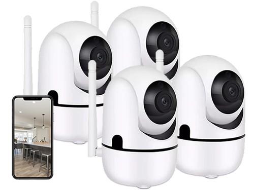 Cámara Seguridad Motorizada Ip X4un Hd Wifi 1mpx 720p P2p