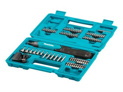 Atornillador 3.6V 81 Accesorios + Maleta