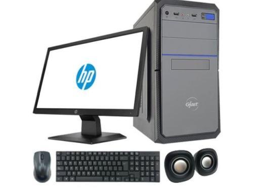 """PC Escritorio Intel Core i3 Ram 4GB 240 SDD + Monitor HP 19,5"""""""