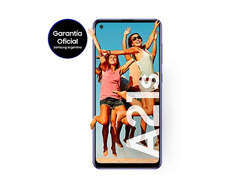 Celular Galaxy A21s 128/4GB Samsung Liberado Color Blanco