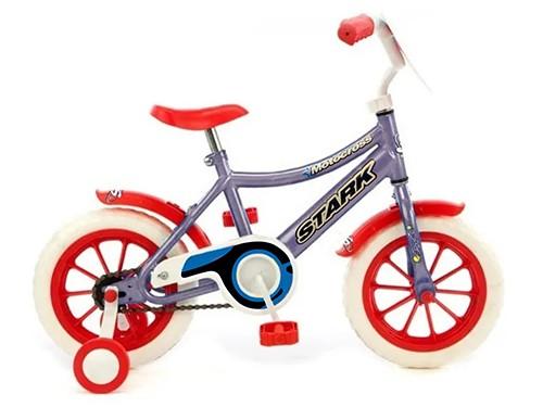 Bicicleta Niño Nena Rodado 12 Infantil Azul Rojo Nene Space