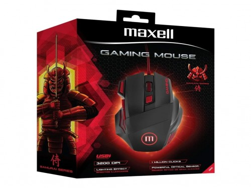 MOUSE USB MAXELL GAMING CA-MOWR-1200 ILLUMINAT