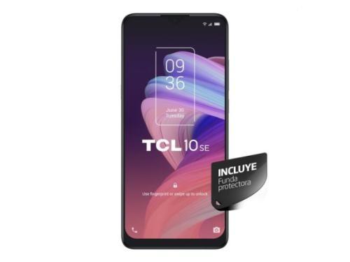 "Celular TCL 10SE Icy Silver 6.5"" 128Gb + 4Gb Ram"