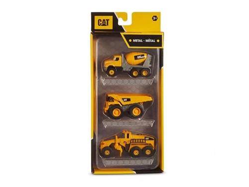 Vehículos de Construcción Metal CAT Pack 1