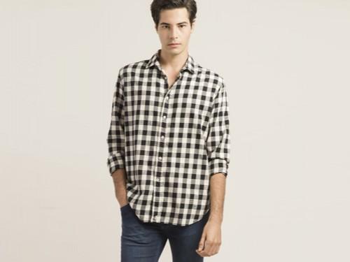 Camisa informal hombre. Modelo Solana. Giesso