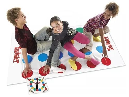 Juego De Mesa Twister Alfombra Infantil Hasbro Original