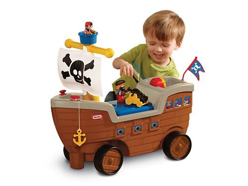 Barco Pirata Primera Infancia Little Tikes