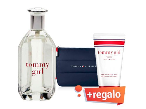 Tommy Girl EDT 50ml + regalos