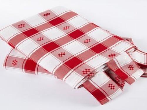 Cortina de cocina Escocés Rojo JC (5430)