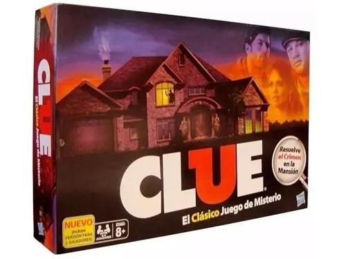 Clue Quien Es El Culpable? Juego De Mesa Hasbro Niño Adulto