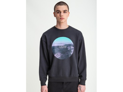 """BUZO LEVI'S® RELAXED GRAPHIC CREW """"CIRCLE LANDSCAPE"""""""