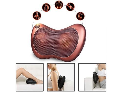 Masajeador Cervical Cuello Lumbar Pies Calor Infrarrojo 12v