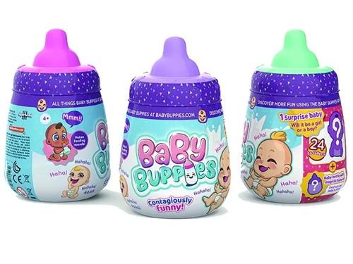 Baby Buppies Bebe Interactivo Sorpresa Biberon Y Accesorios