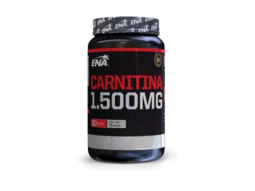 Suplemento deportivo Carnitina 1500 Mg (60 Cápsulas) ENA SPORT