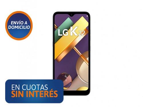 Celular LG K22 2/32 Gris Titanium
