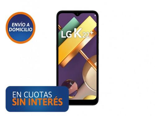 Celular LG K22+ 3/64 Gris Titanium