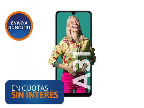 Celular Samsung A31 4/128GB Blanco