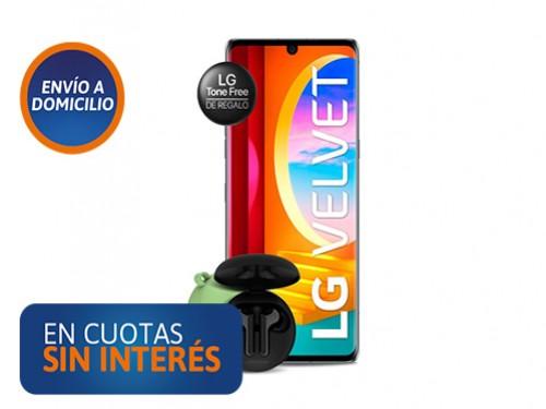 Celular LG Velvet 6/128 + Auriculares