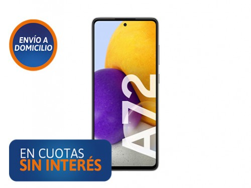 "Celular Samsung A72 6,7"" 6/128 Black"