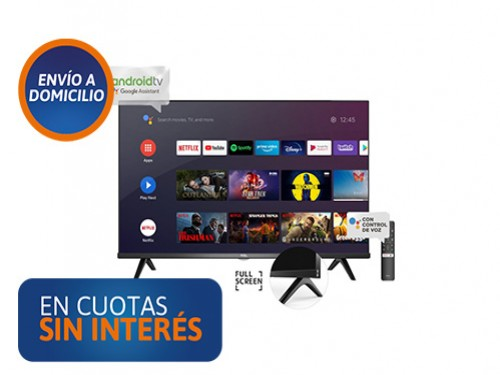 """Smart Tv 32"""" TCL L32S60A HD Android"""