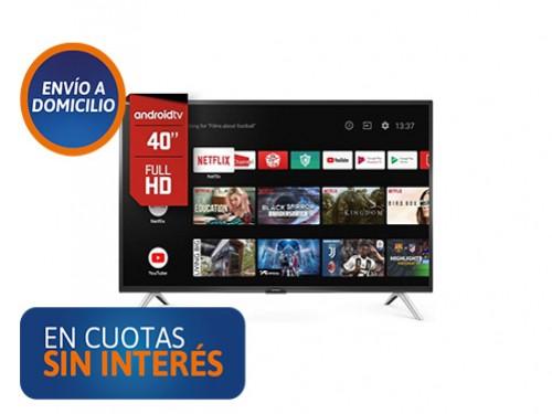 """Smart Tv 40"""" Hitachi E40S HD Android"""