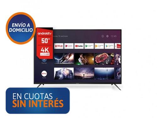 """Smart Tv 50"""" Hitachi LE504KSMART20 UHD 4K Android"""