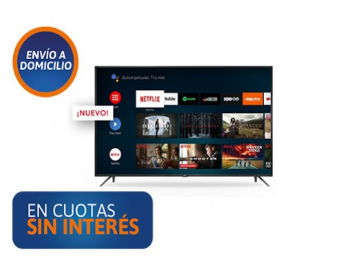 """Smart Tv 50"""" RCA X50ANDTV 4K UHD"""