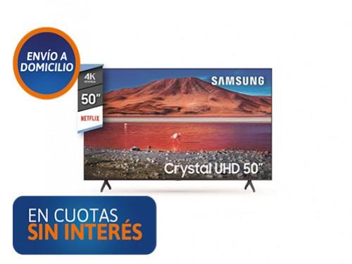 """Smart Tv 50"""" Samsung UN50TU7000GCZB UHD 4K"""