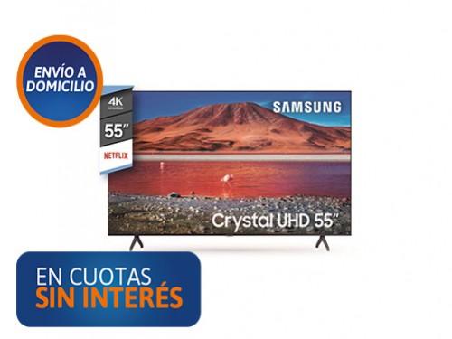 "Smart Tv 55"" Samsung 55TU7000 UHD 4K"